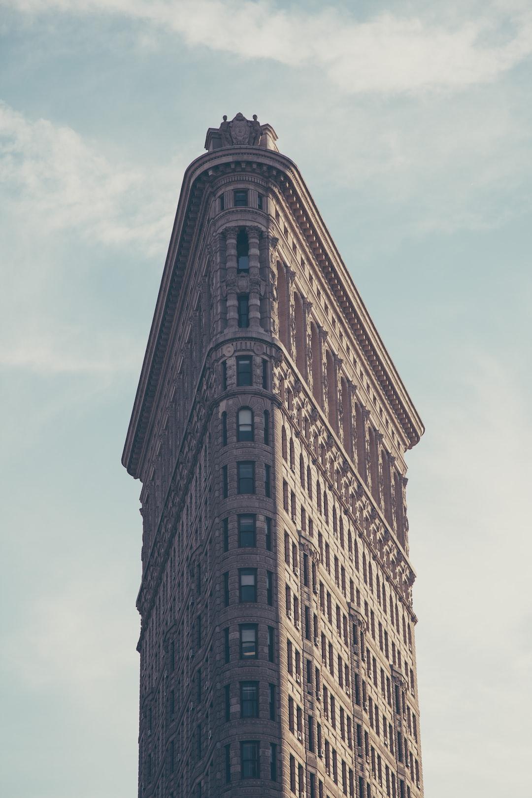 Flatiron, Building, New York And Skyscraper HD Photo By