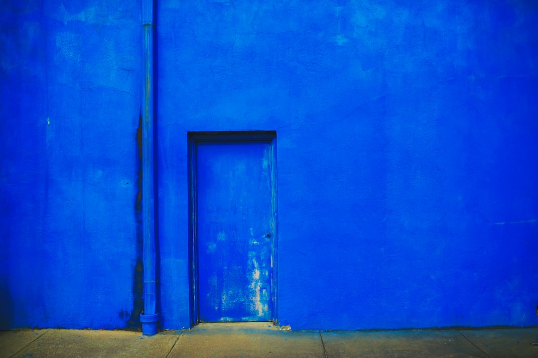 S Blue Painting