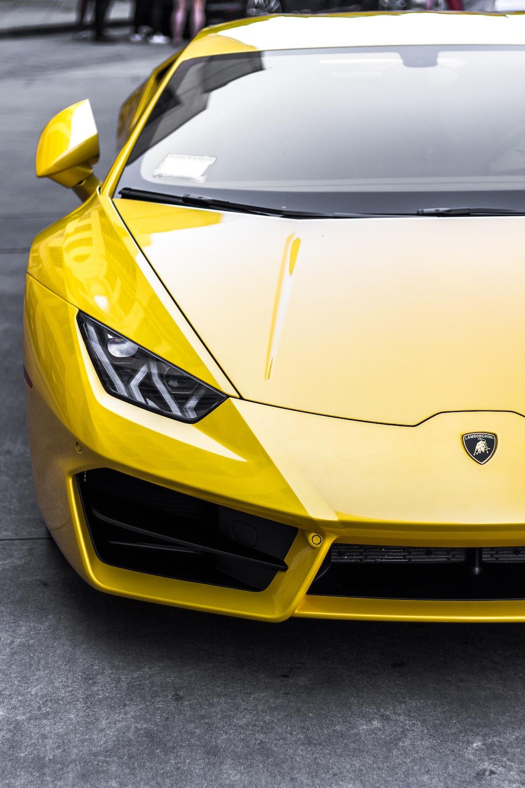 Lamborghini Car Insurance