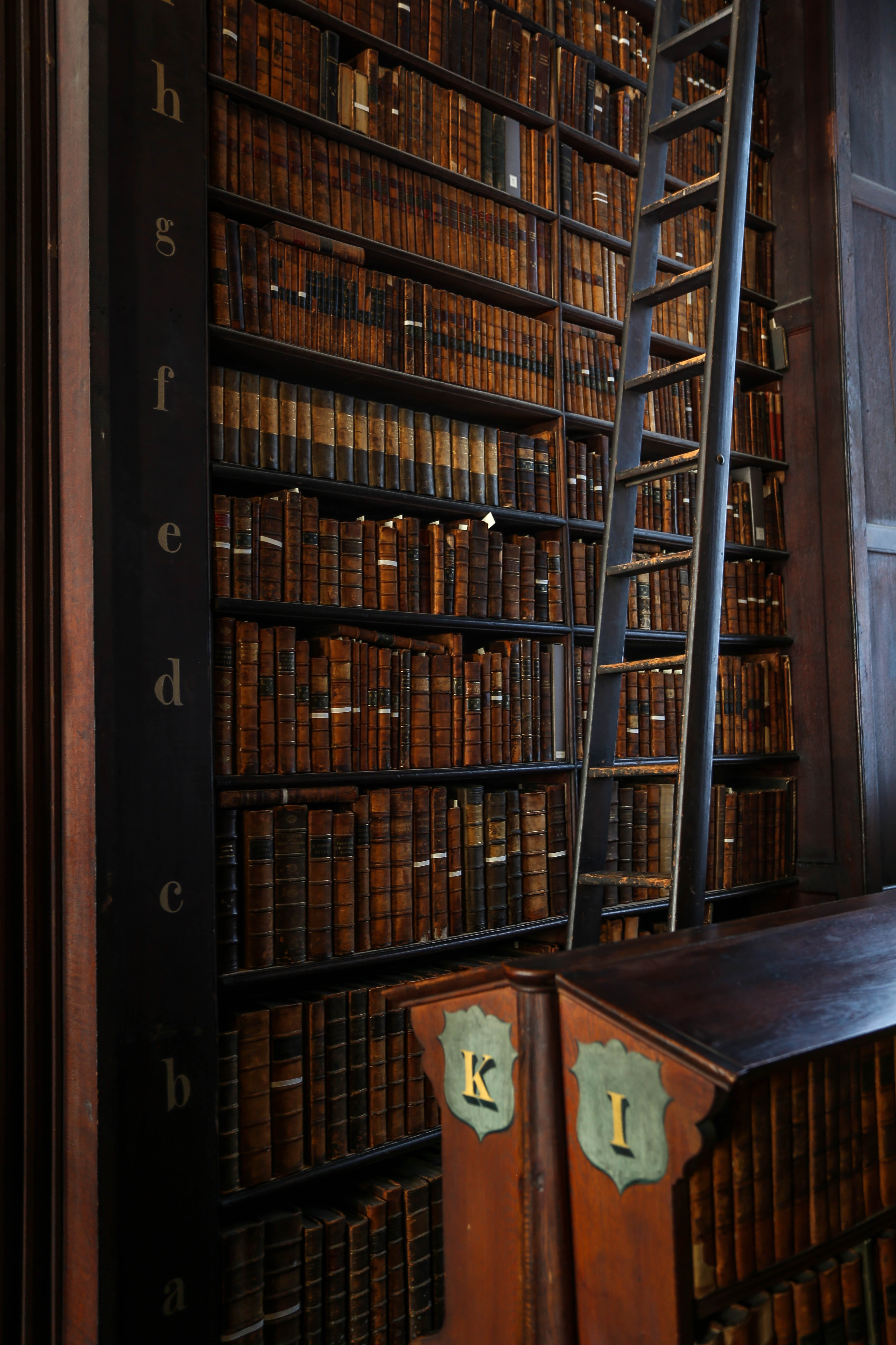 trinity college library photo by alexandre godreau