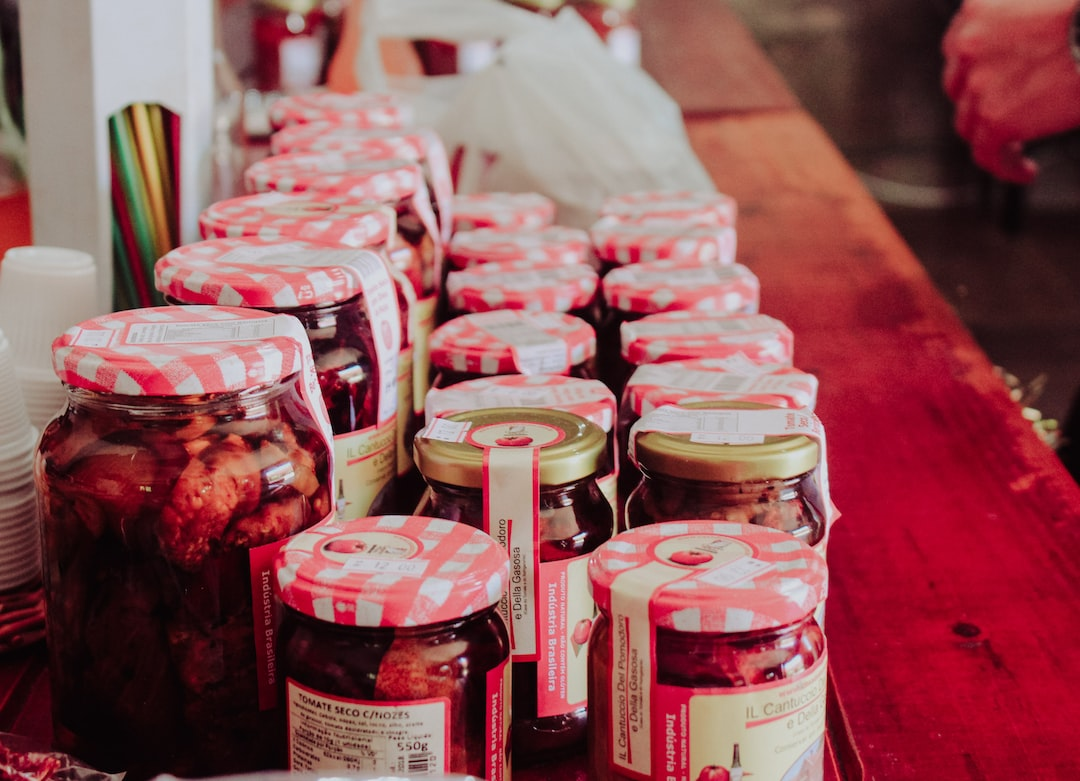Jam, jars, red and strawberry HD photo by Bárbara Montavon ...
