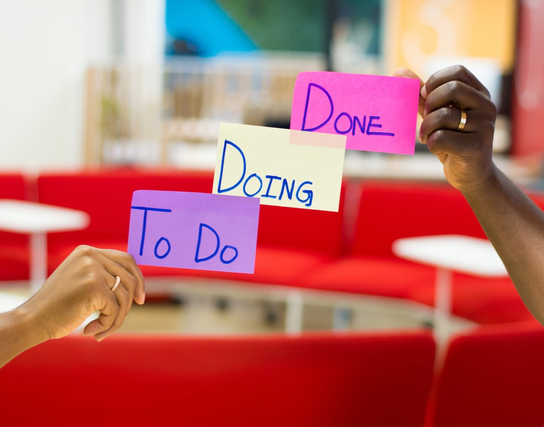 to do, doing, done
