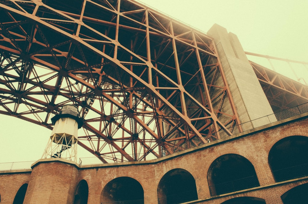 brown and grey concrete bridge