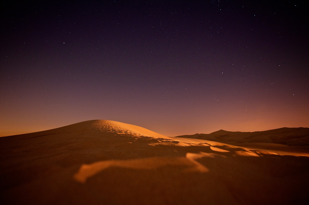 Desert at Twilight