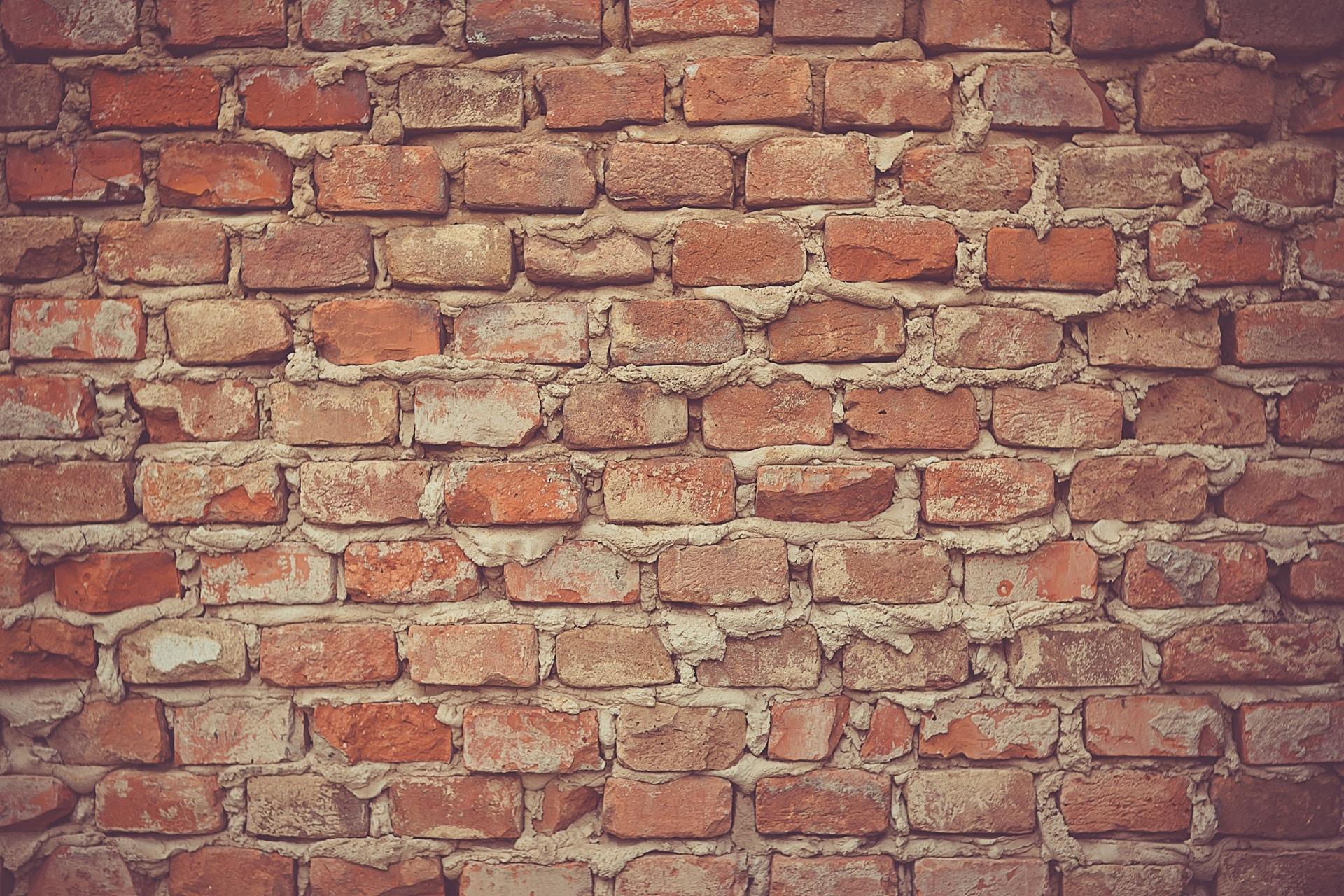 brown concrete bricks