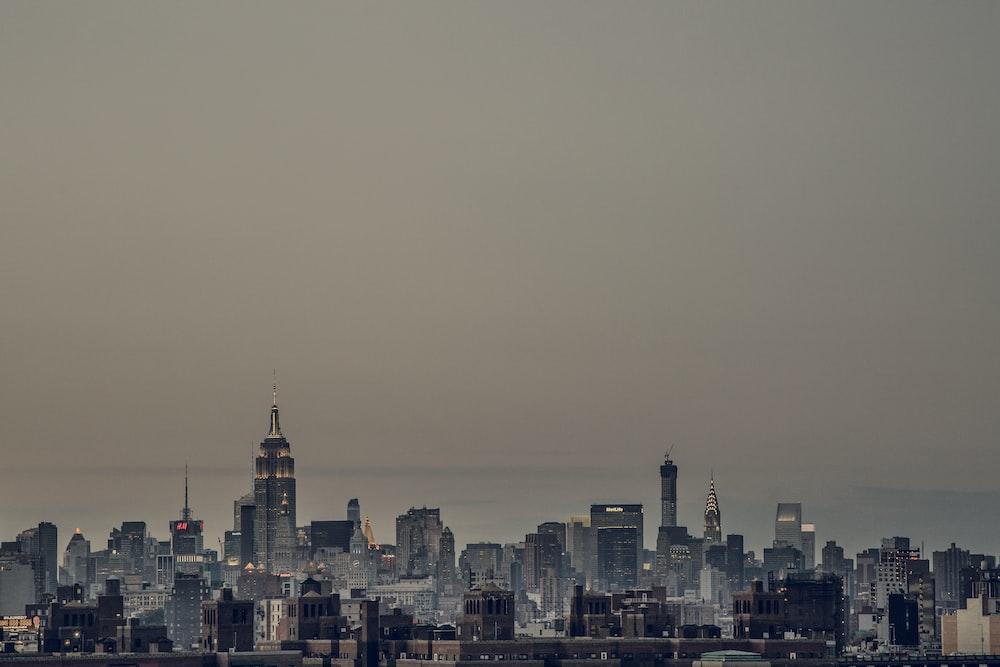 bird's eye view photo of city