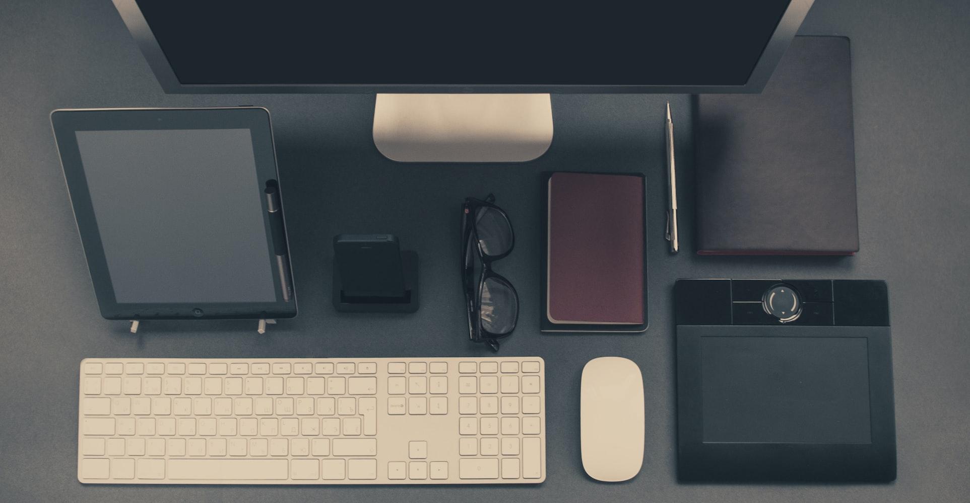 business, desk, mouse