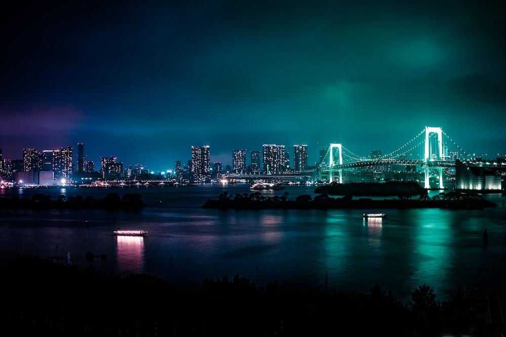 skyline photography of cityscape