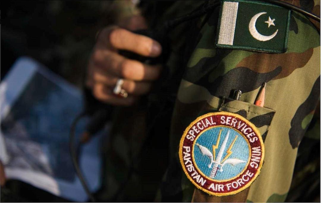 On Duty Pakistan Air Force Wing Commander