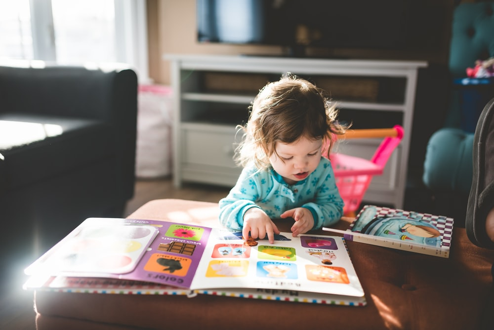 Child Reading Book Photo Free Human Image On Unsplash