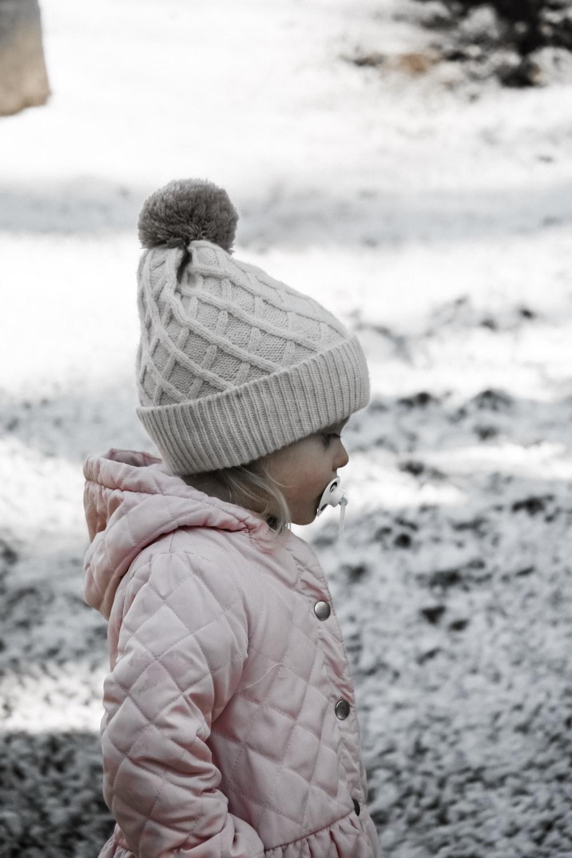toddler standing outdoor