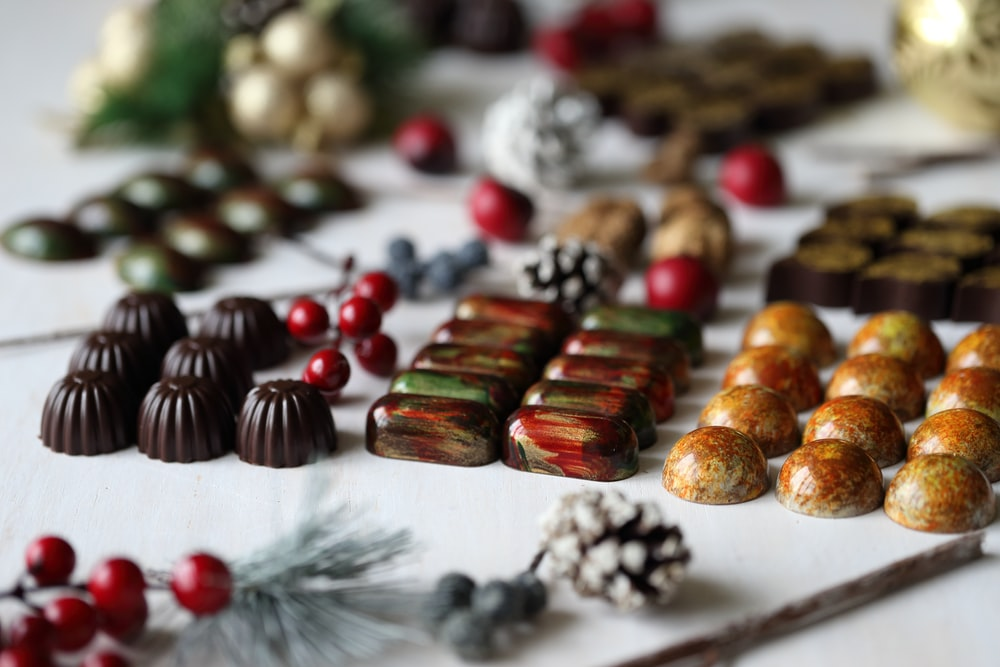 chocolates and pastries