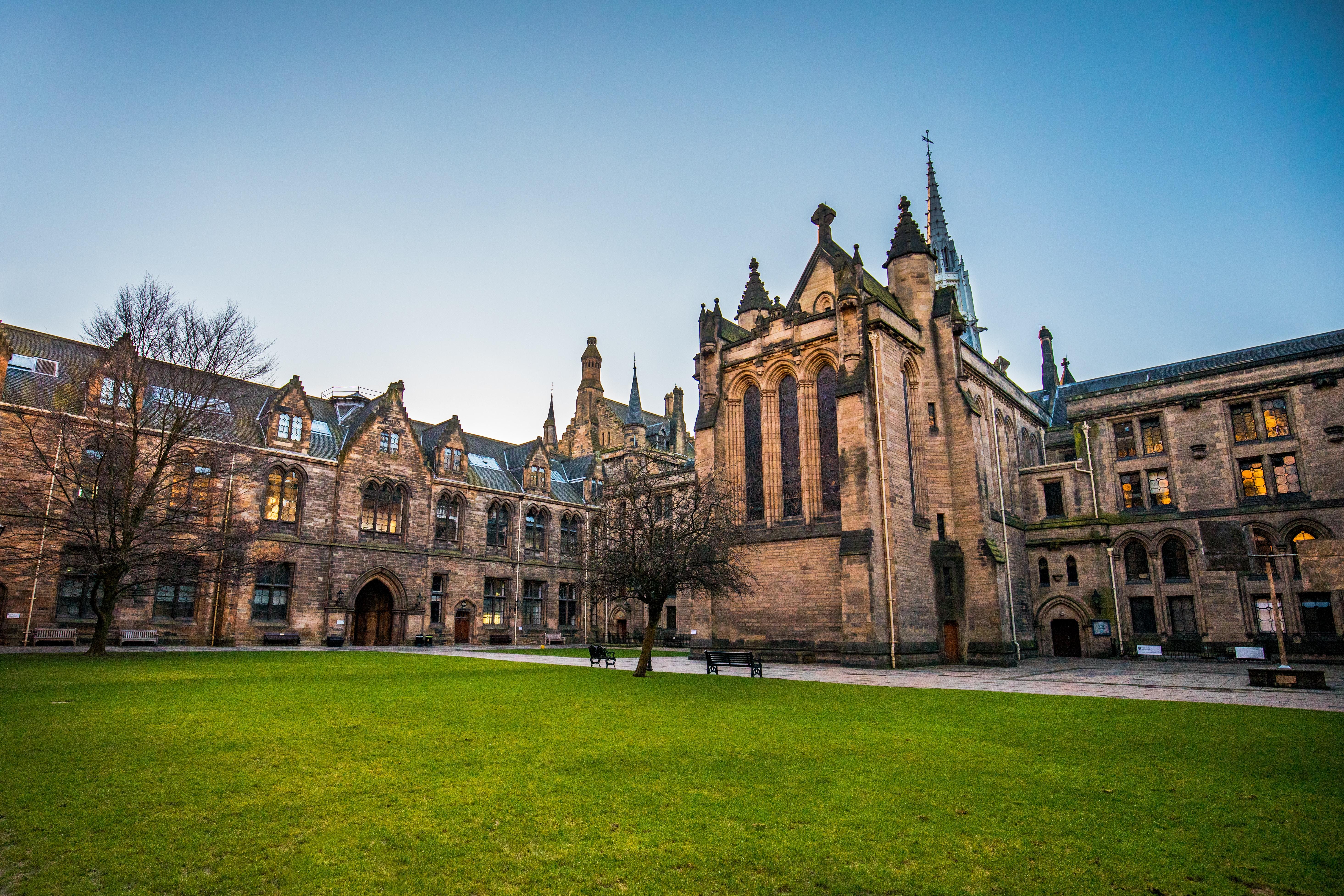 A photo of a university