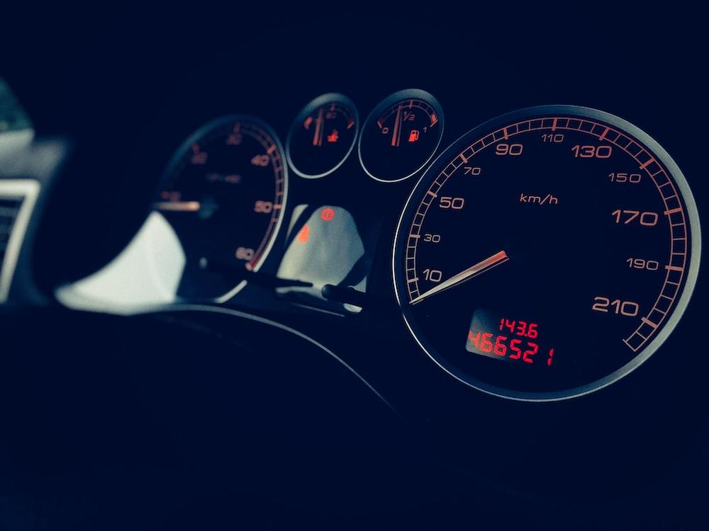 vehicle instrument cluster panel
