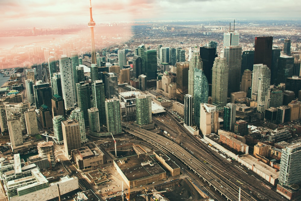 skyline city view