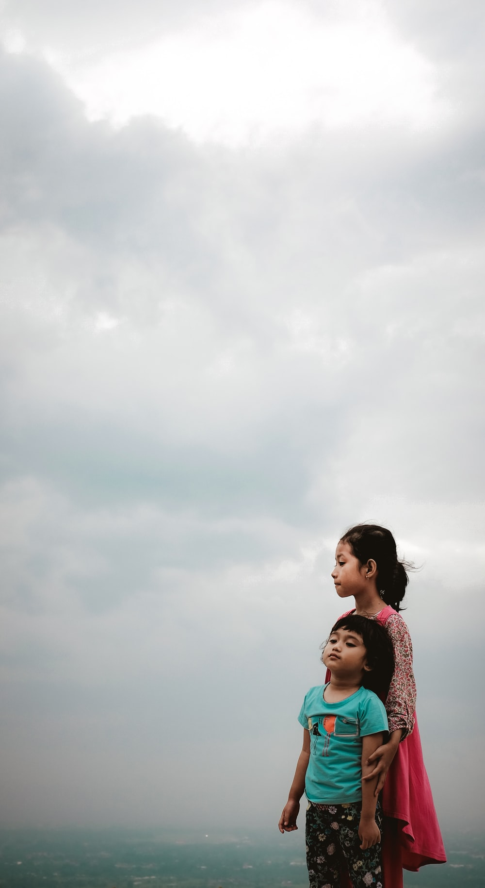 girl and boy standing