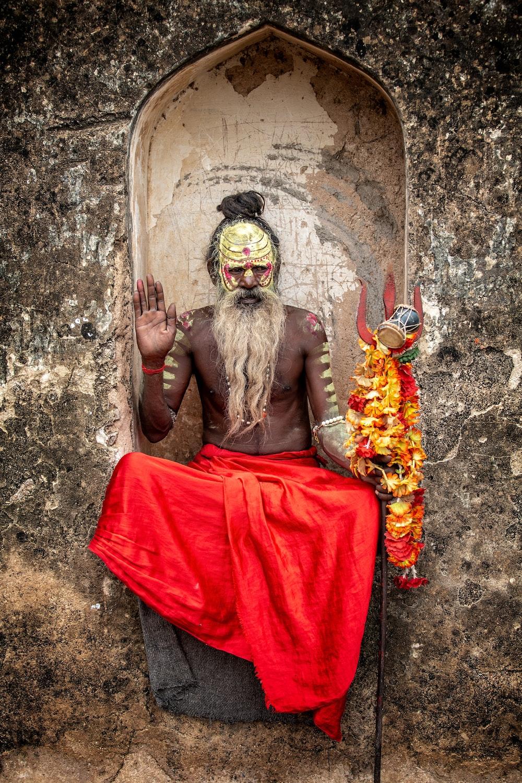 man in altar