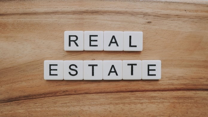 real estate letter blocks