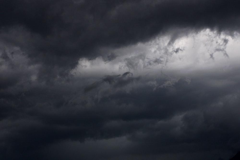 grey cloudy sky