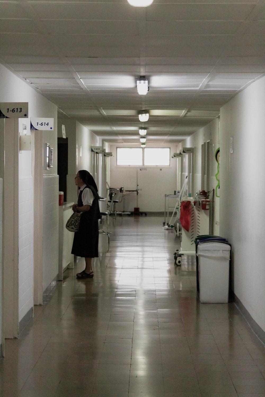 woman standing inside room