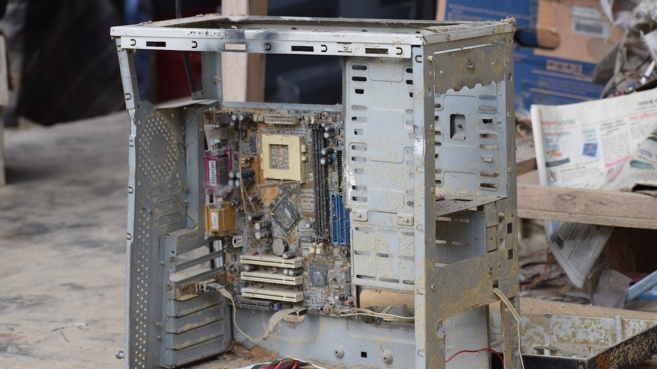 Image of dusty PC