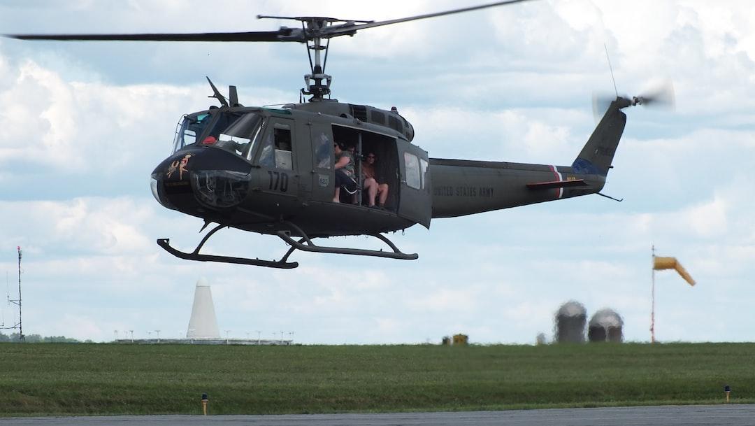 "Restored UH-1, Liberty War Bird Association. Huey 823 ""Bikini Blue"""