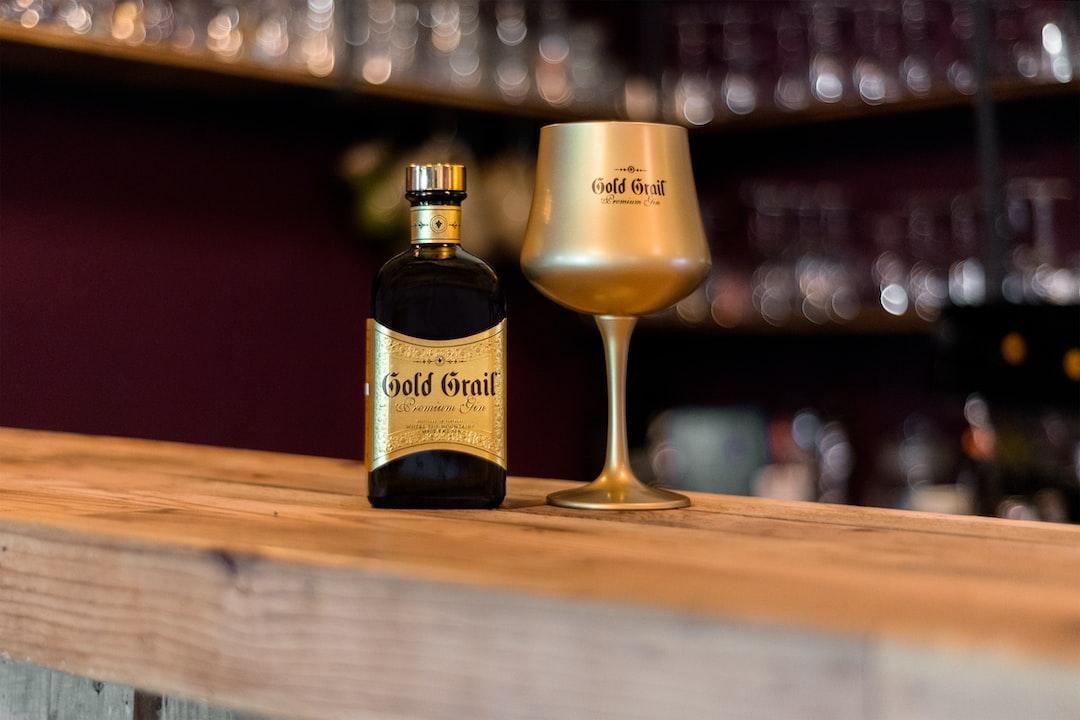 Gold Grail Gin