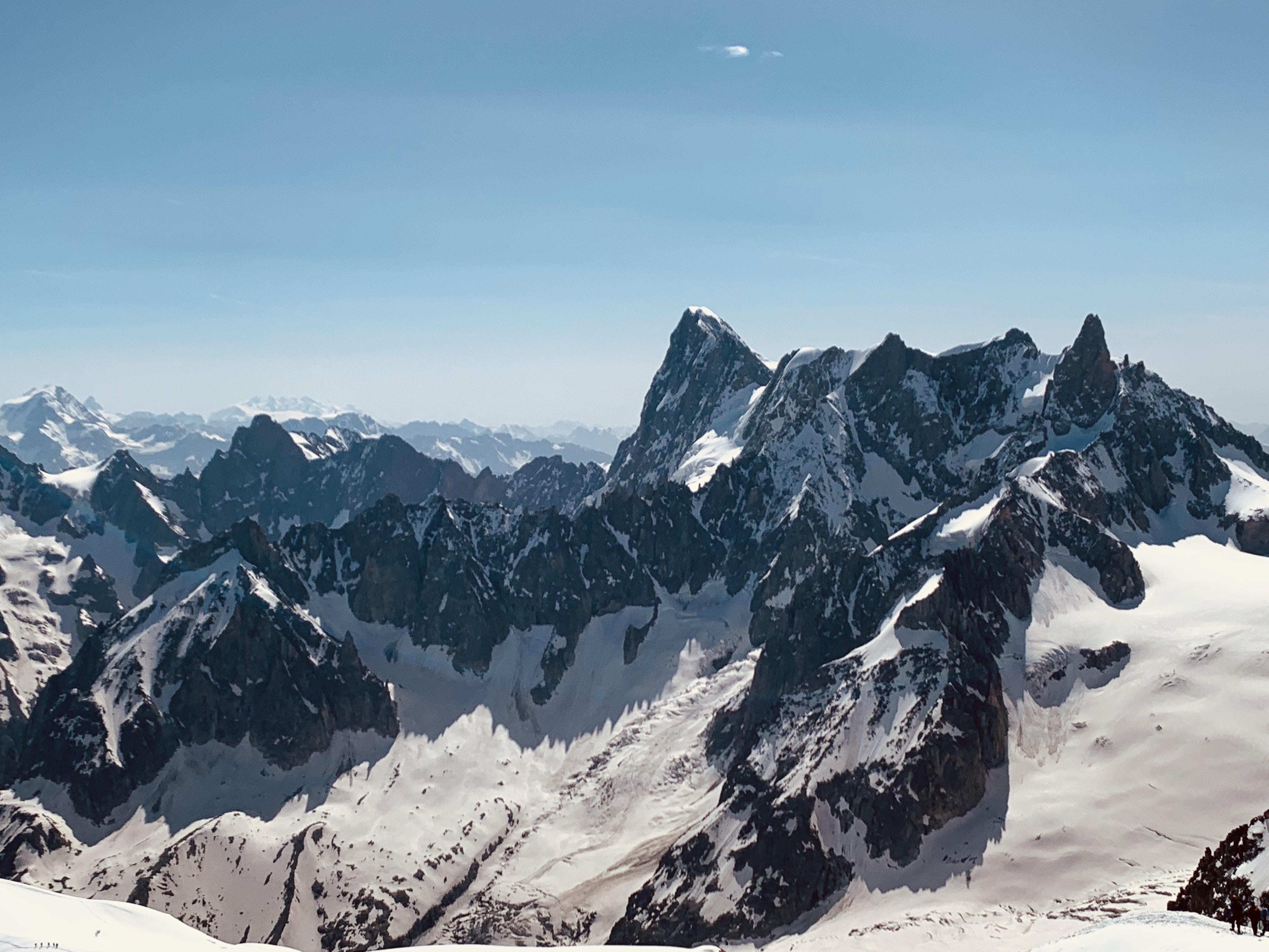 霞慕尼勃朗峰、羅納-阿爾卑斯、法國 Chamonix Mont Blanc, Girona-Alpes, France