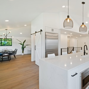 contemporary  kitchen by cabinets by webb