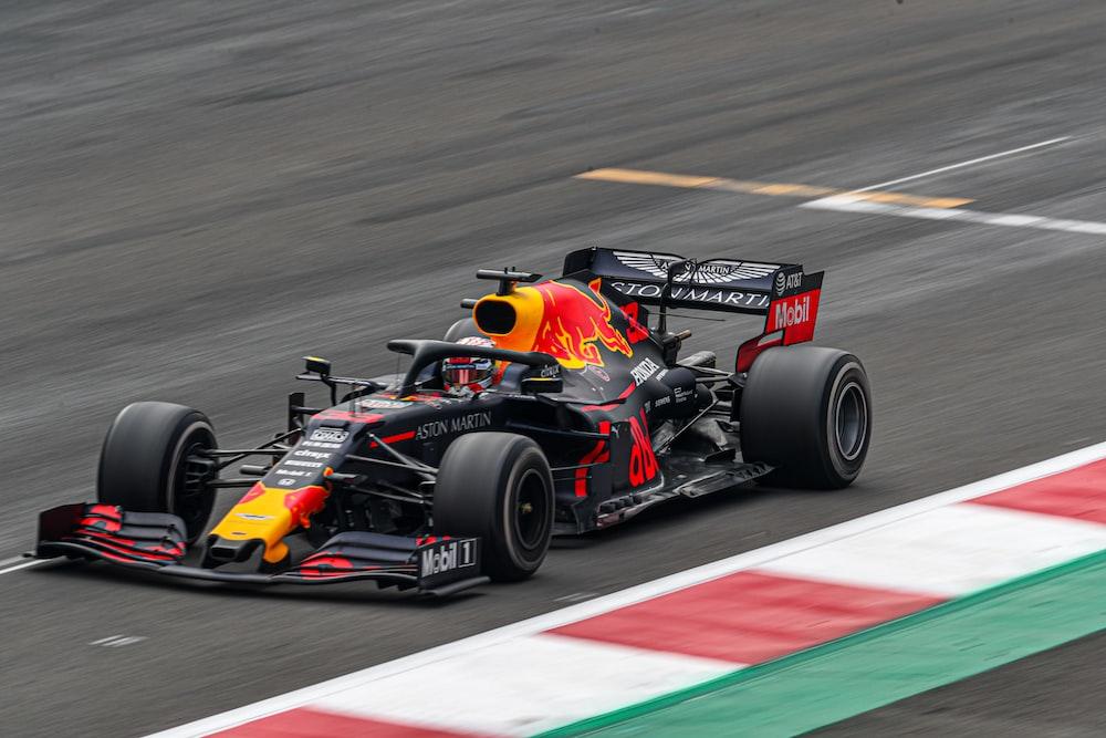 F1 on race track