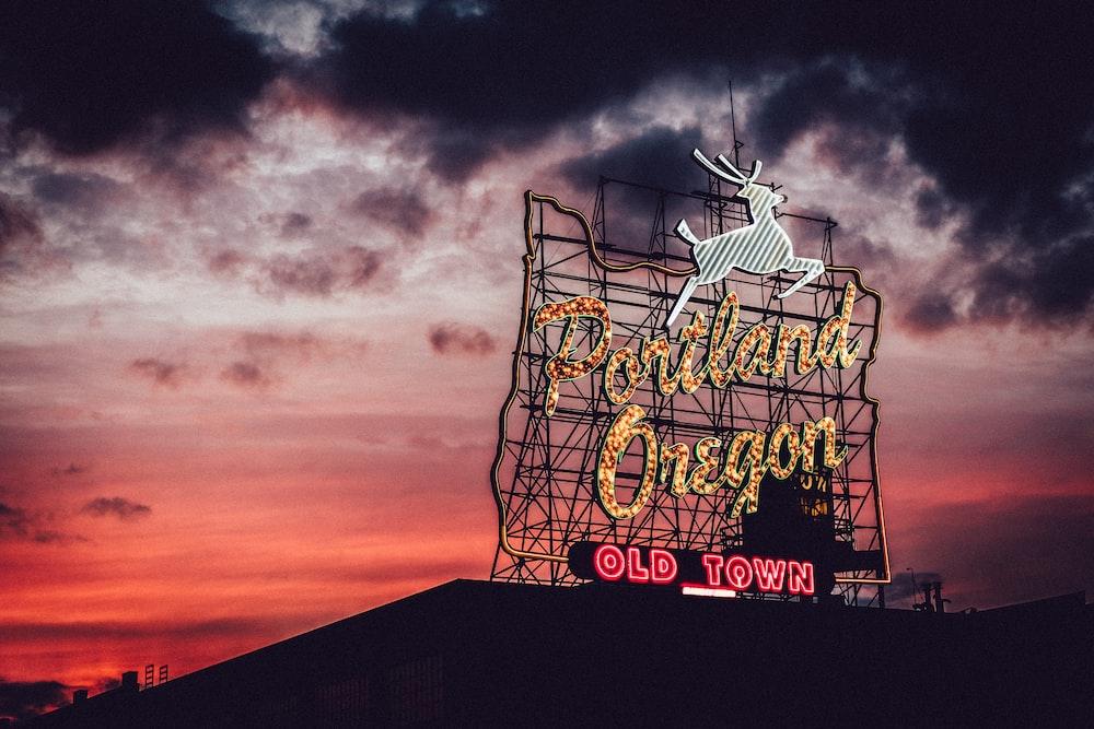 Portland Oregon signage