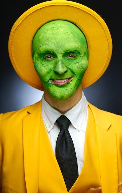 Costume, Halloween, makeup, actor, attitude