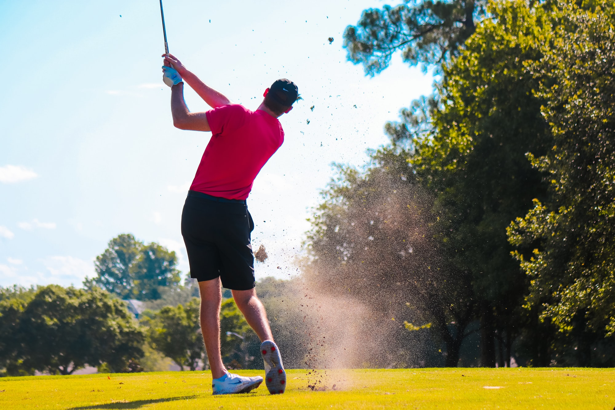 There are so many life lessons that you can learn from playing golf