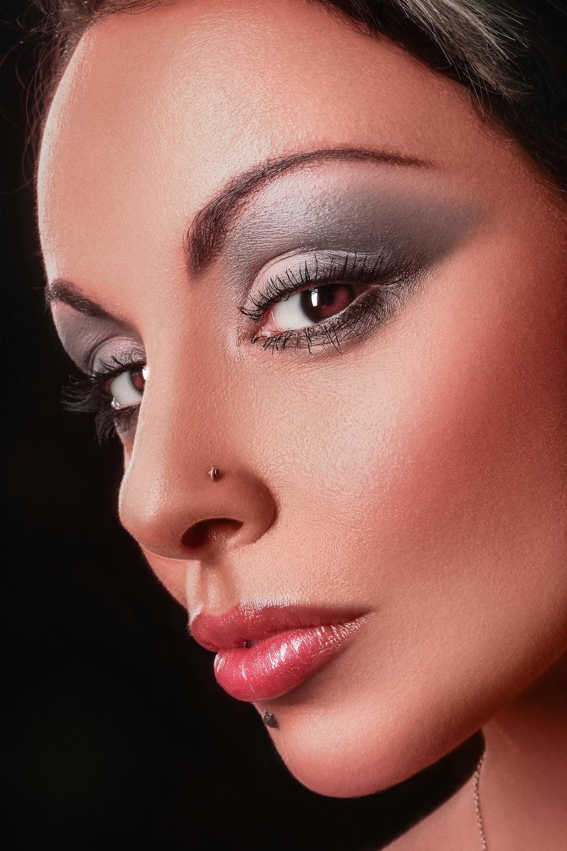women's pink lipstick