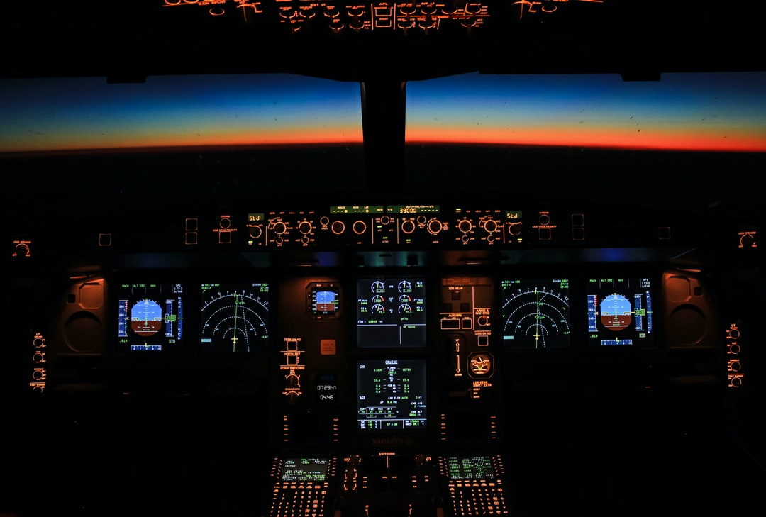 Cruising over the Atlantic at 39.000 feet flying from Bogota to Barcelona on board an Airbus A330-200