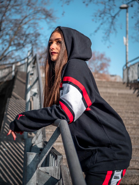 Italian girl modeling in Germany.