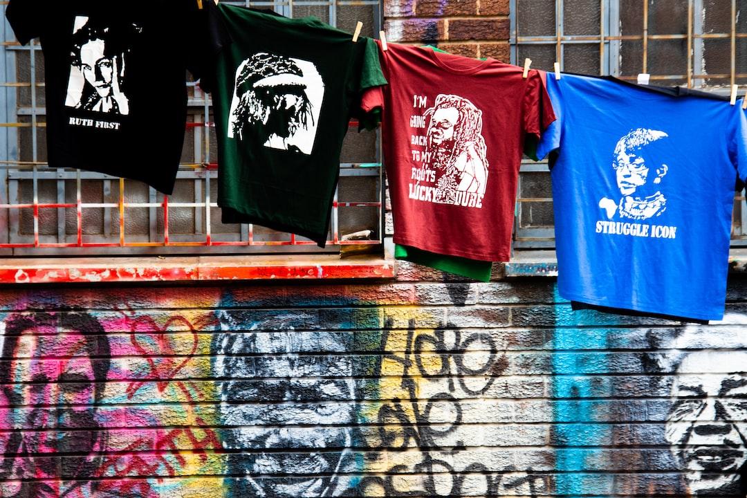 Apartheid struggle t-shirts in Johannesburg, South Africa