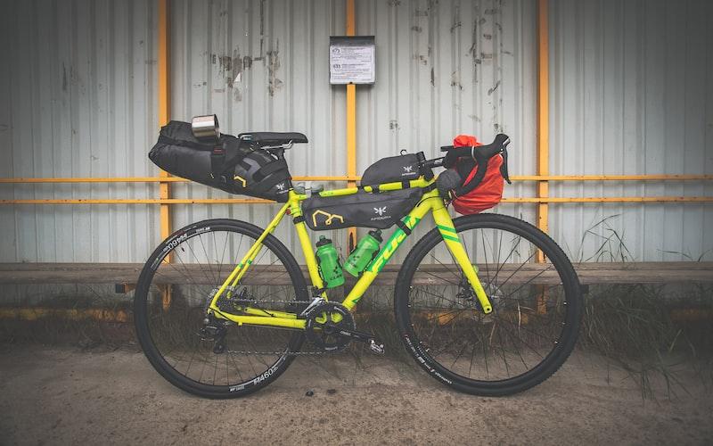 cykel pakket til bikepacking