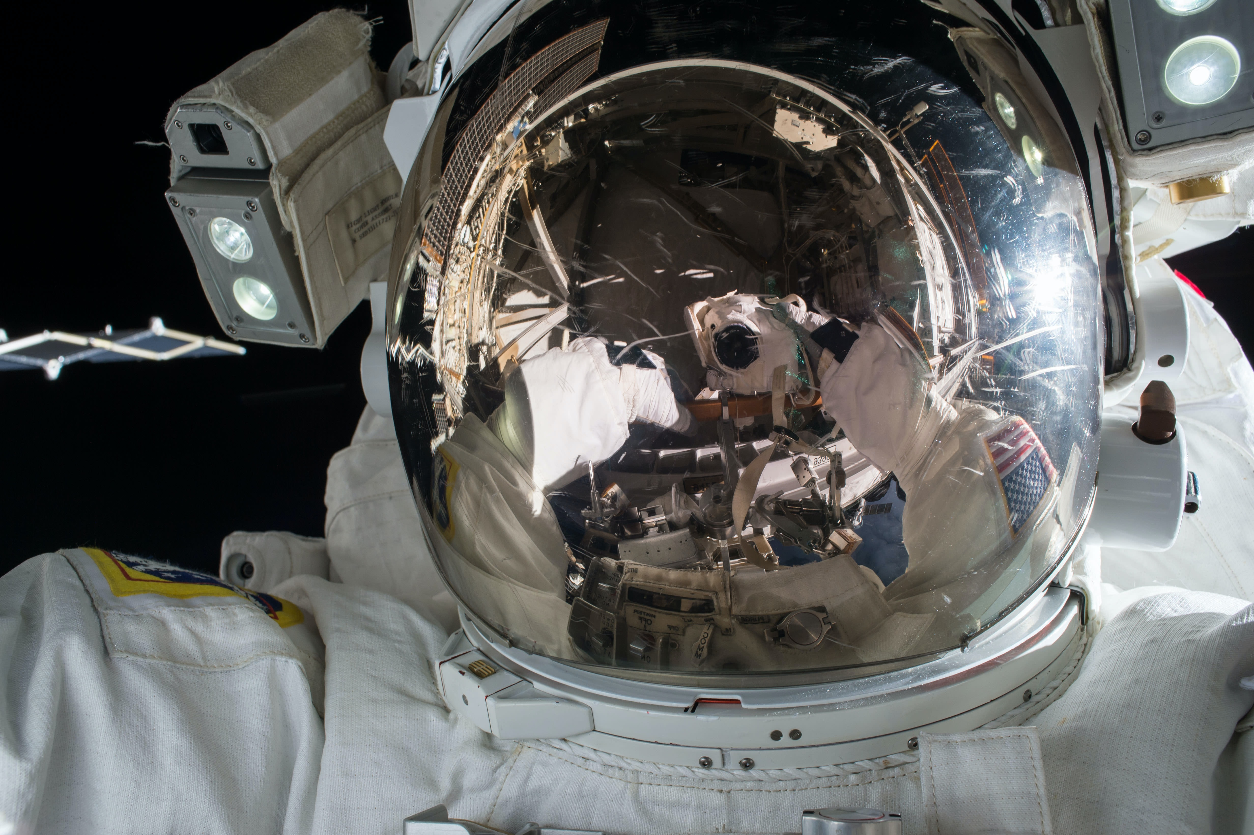 "<p>The first selfie on Unsplash comes from <a href=""https://unsplash.com/@nasa"">NASA</a>.</p>"