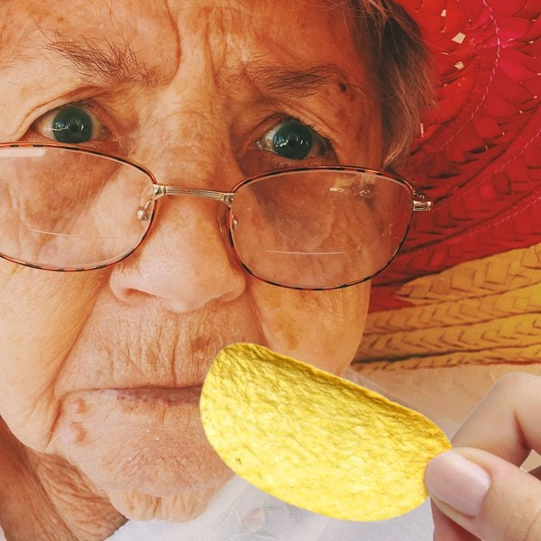 "<p>""You'll be her favorite grandkid, Andrew, once you give Grandma the <a href=""https://twitter.com/Pringles/status/699267404522606598"">#LastPringle</a>."" Original photo by <a href=""https://unsplash.com/@alexharvey?photo=y0I85D5QKvs"">Alex Harvey</a>.</p>"