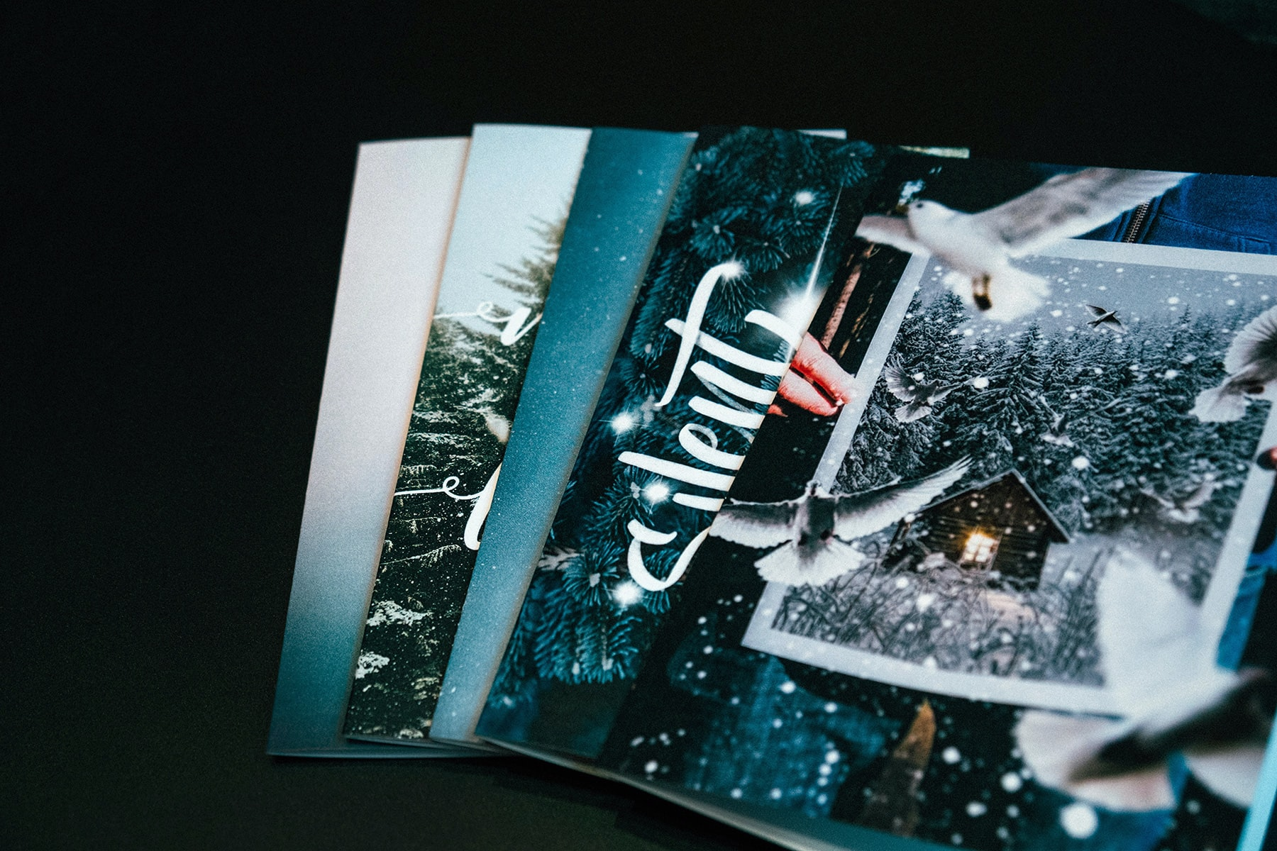 "<p>Get a card. Support a creator. <a href=""https://crew.co/store/"">Unsplash Holiday Cards</a> were one-of-a-kind cards made by Unsplash creators. All profits were split with contributors.</p>"