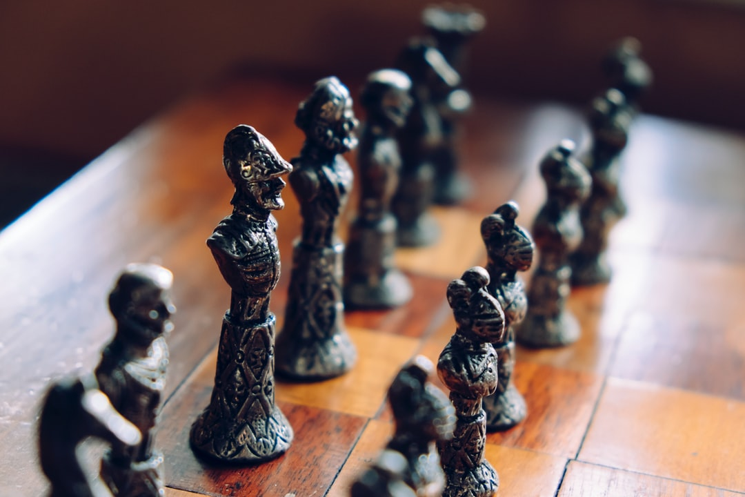 """""""Vintage chess pieces"""""""