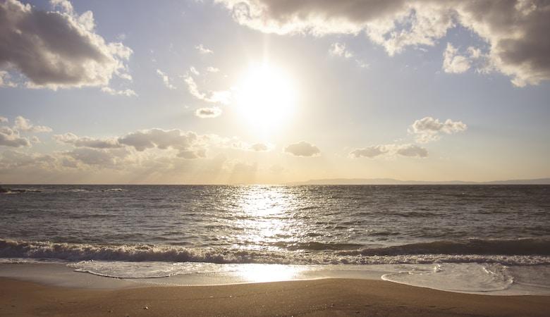 coucher de soleil vacances