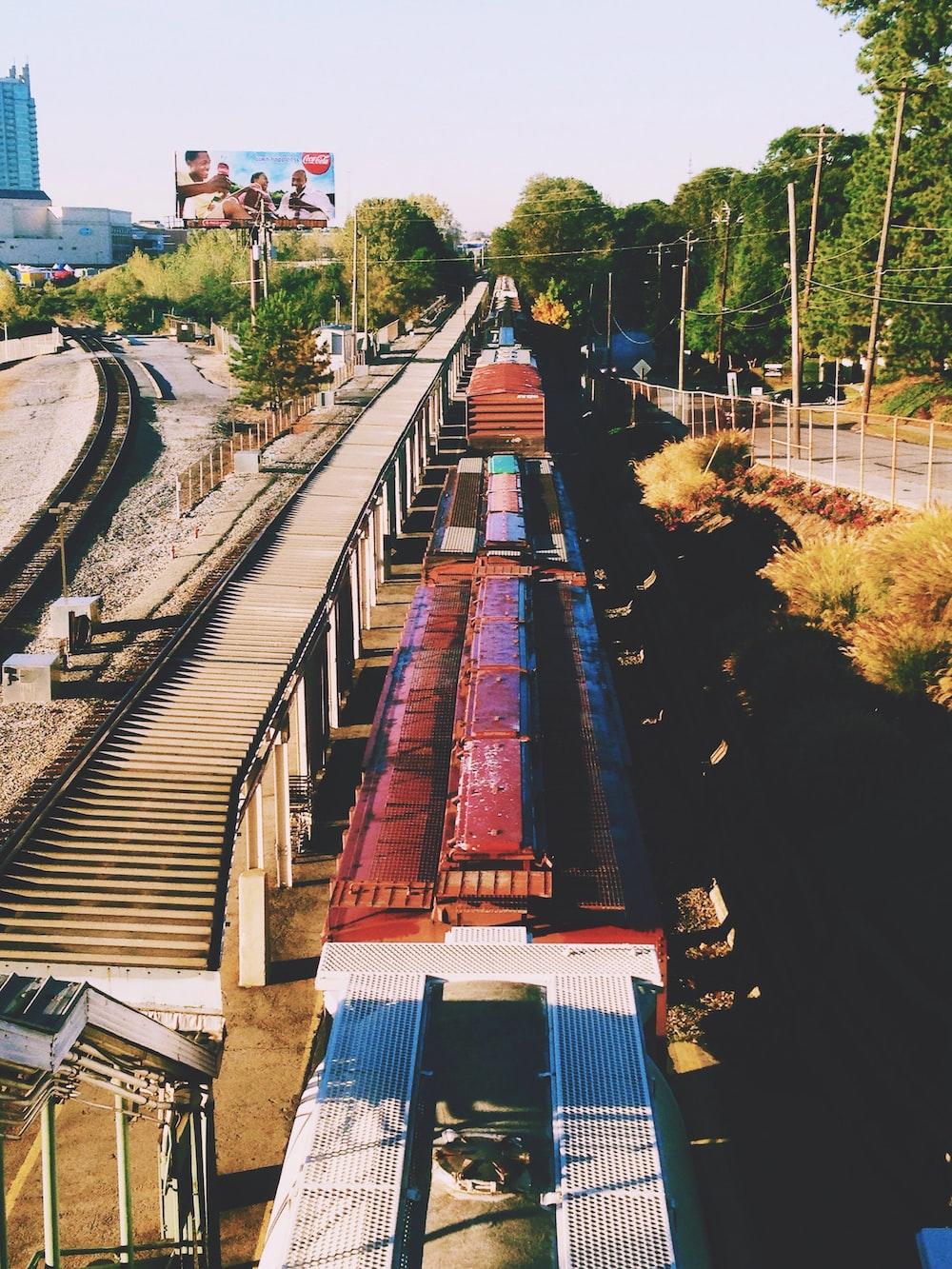 train on rail
