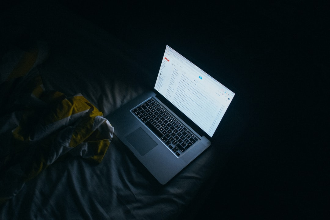 Reading mail at night