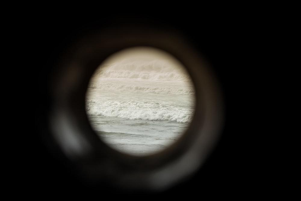 hole across body of water