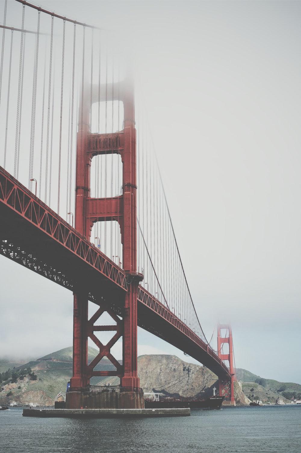 Golden Gate Bridge under blue sky at daytime