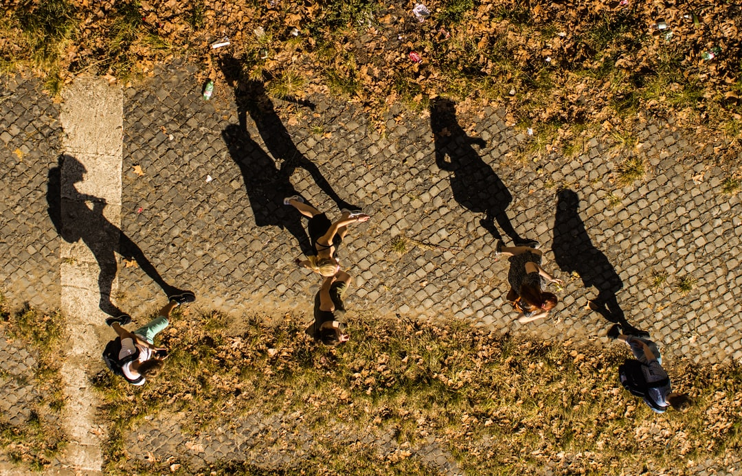 People and their shadows