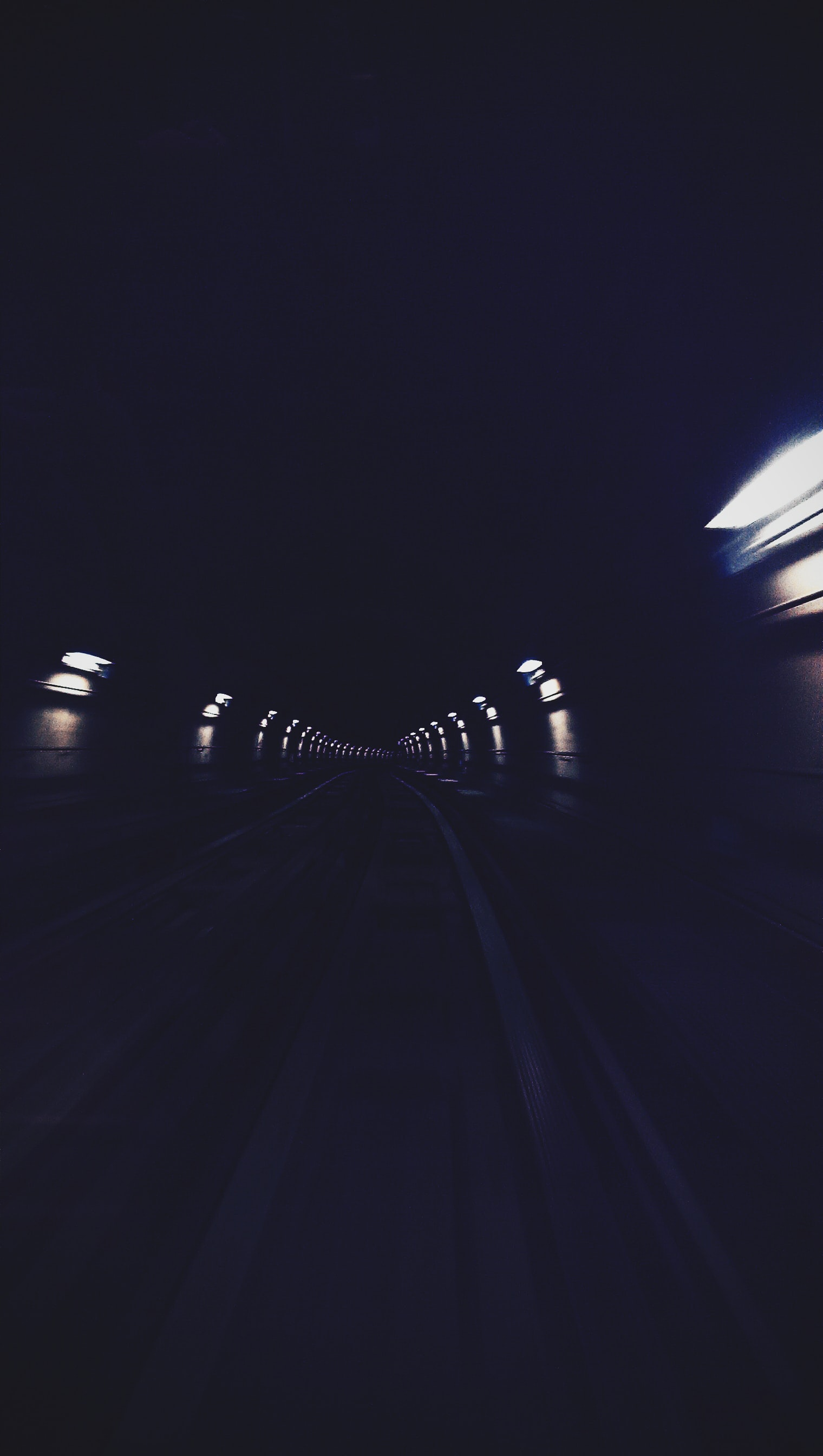 timelapse photography of tunnel