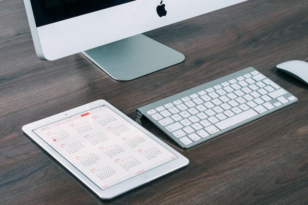 iMac aluminum and iPad